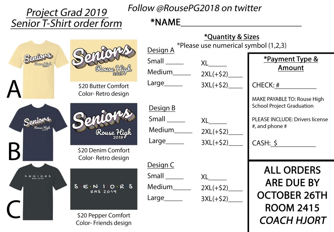 Project Grad Shirts